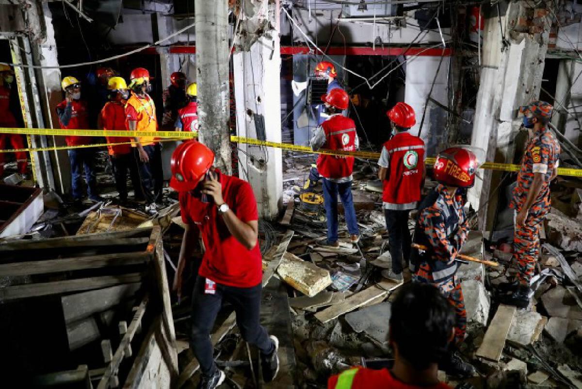 ระเบิดที่เมืองหลวงบังคลาเทศ ดับแล้ว 7 ราย