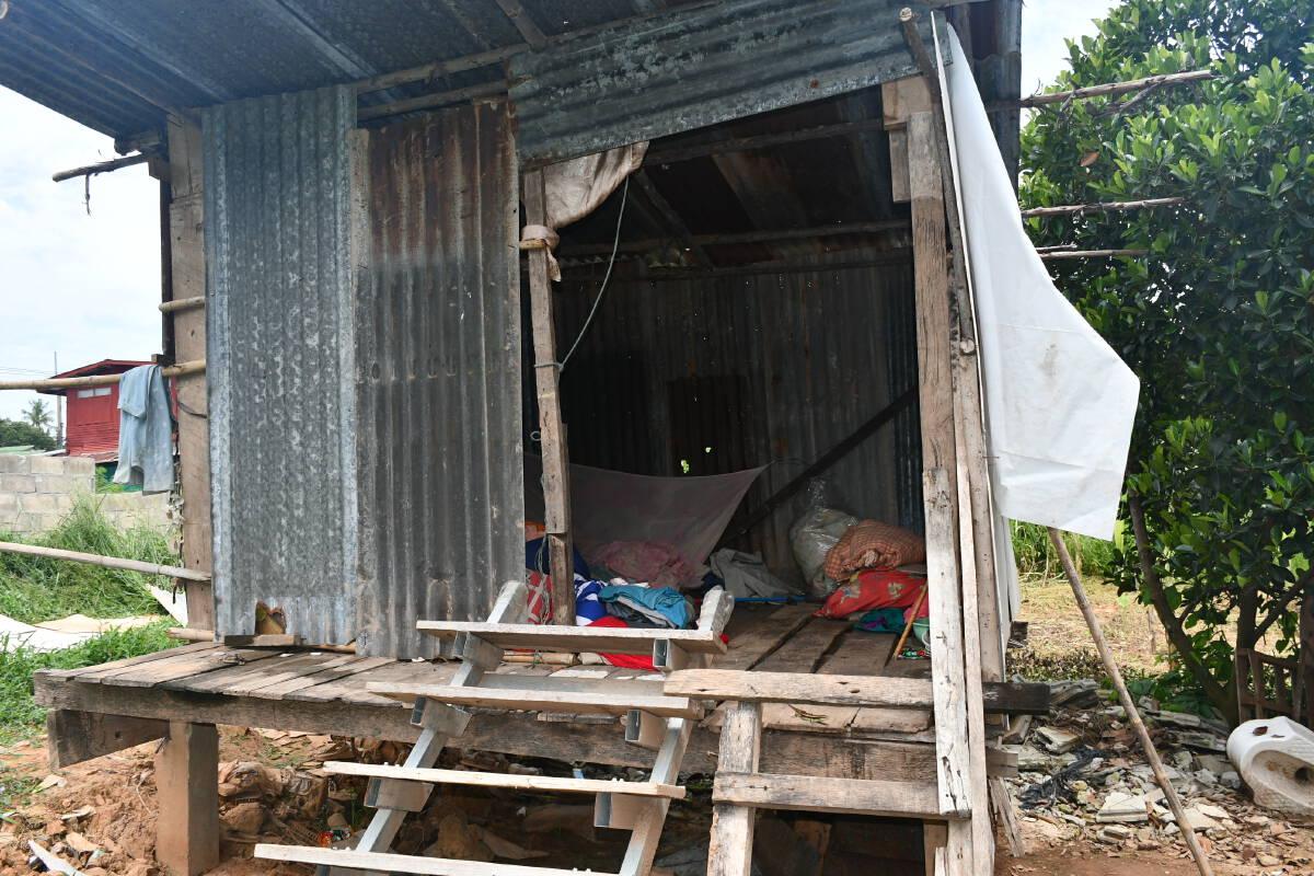 ช่วยเหลือ!ลุงวัย77อาศัยเพิงสังกะสีนานนับ10ปี