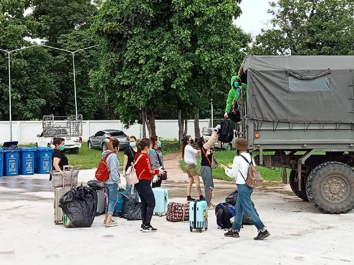 ทหารสกัดจับ10หญิงไทยในป่าข้าวโพด-ลักลอบข้ามแม่น้ำเมย