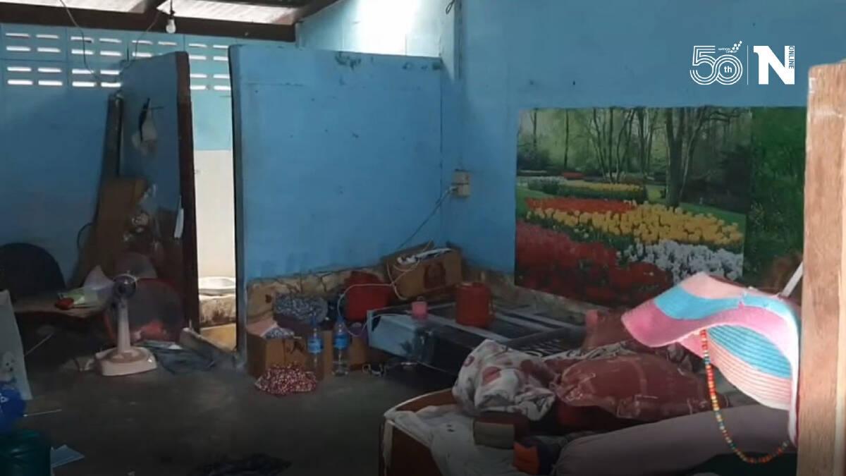 สองเด็กหญิงวัย 7 ขวบและ 9 ขวบนอนเฝ้าร่างแม่เสียชีวิตภายในบ้าน