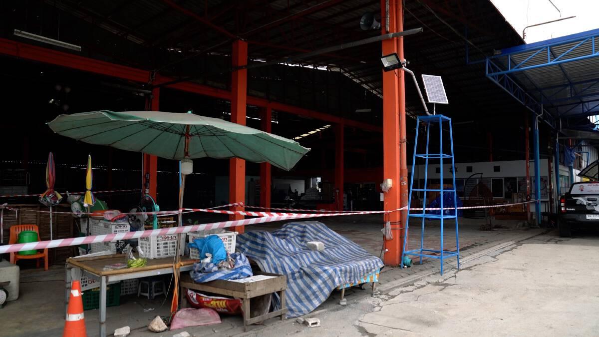 ตลาดศรีเมืองทองพบติดเชื้อโควิด 6 คน เร่งตรวจเชิงรุกรอผล 125 คน