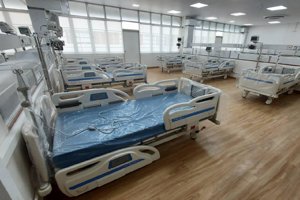 รพ.เพชรบูรณ์เปิดใช้หอผู้ป่วยแรงดันลบ รับผู้ป่วยโควิดอีก 30 เตียง