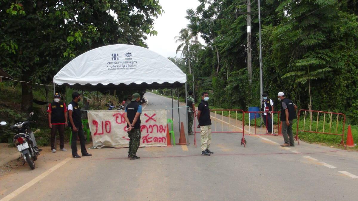 เบตงสั่งปิดหมู่บ้าน หลังพบผู้ติดเชื้อ 26 รายรอลุ้นผลอีก 80 ราย