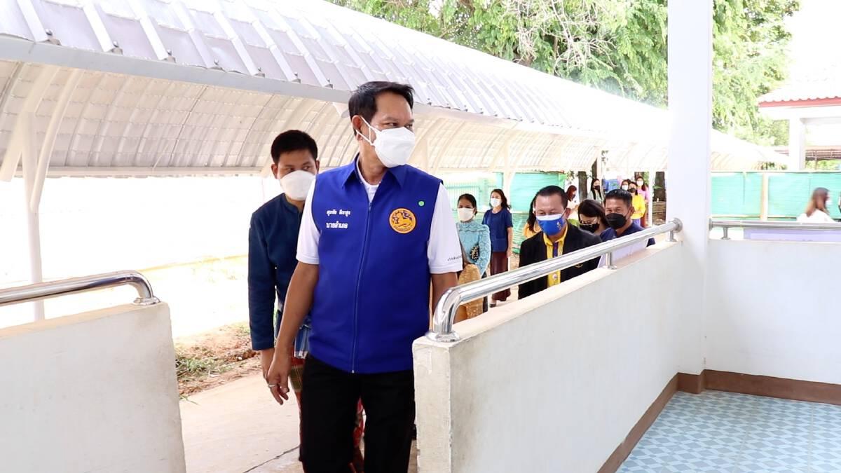 ศูนย์พักคอยประจำตำบล อำเภอเมืองขอนแก่นพร้อมรับกลุ่มเสี่ยงกลับบ้าน