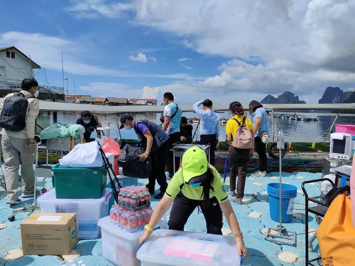 เร่งเปิดจุดฉีดวัคซีนเชิงรุกให้ชาวเกาะปันหยี รับการท่องเที่ยวสิงหาคม