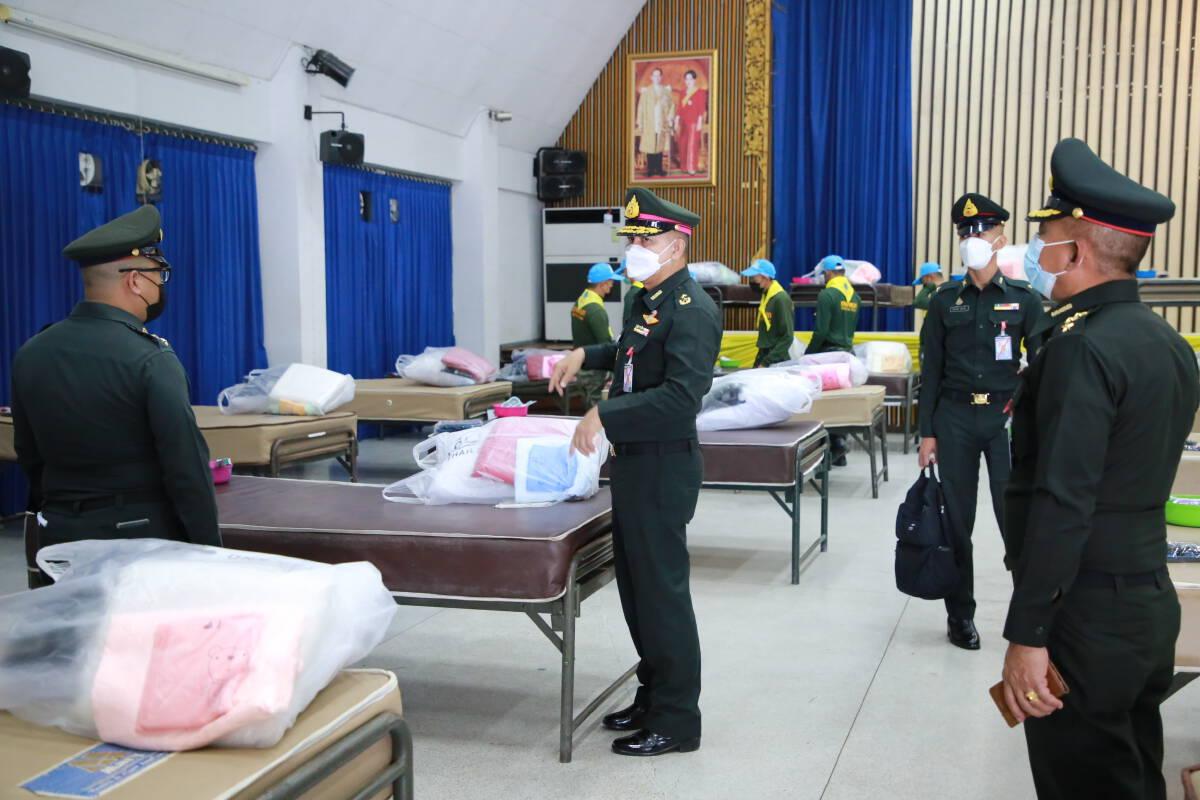 เตรียมเปิดโรงพยาบาลสนาม ในค่ายกาวิละเชียงใหม่ 50 เตียง