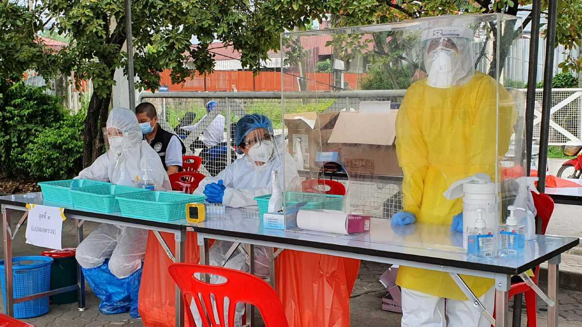 ทน.เชียงใหม่ตรวจเชิงรุกพบติดเชื้อไวรัสโควิด8ราย