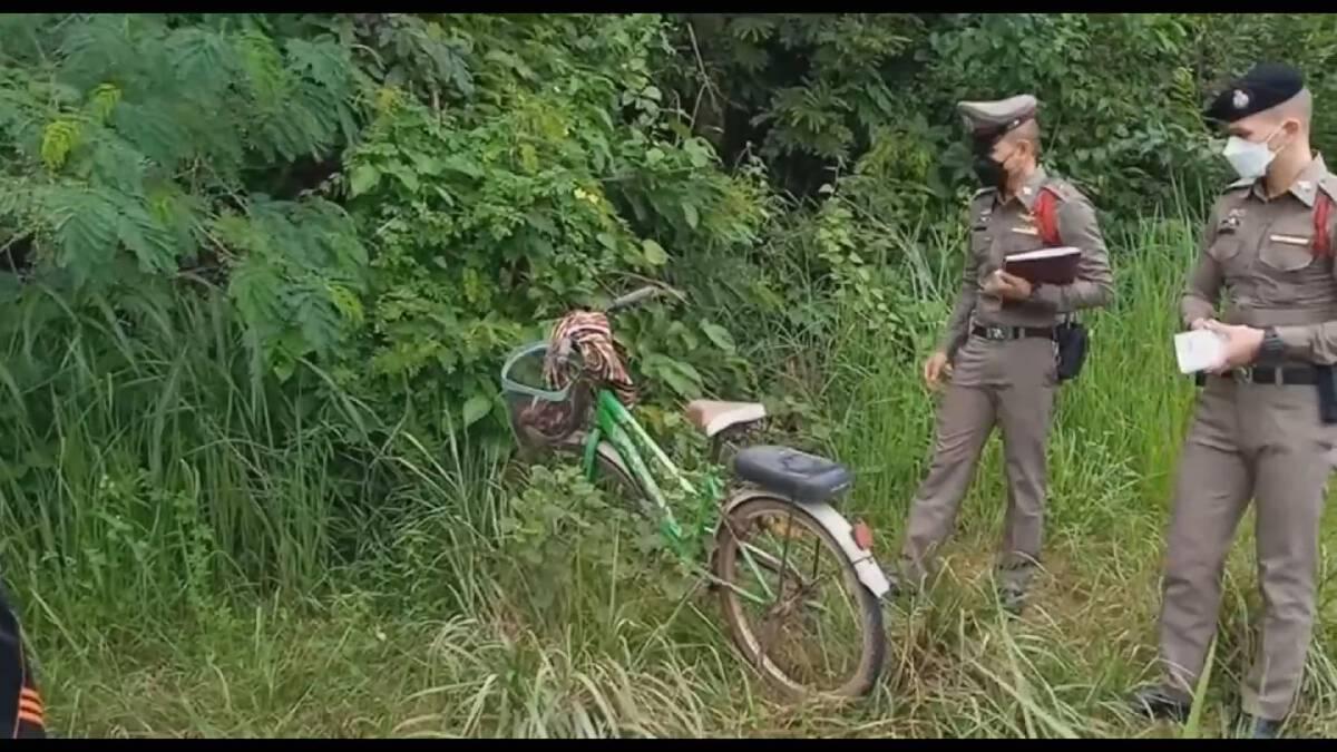 พ่อเฒ่า 87 น้อยใจภรรยาบ่น ปั่นจักรยานไปผูกคอดับในป่าหลังวัด