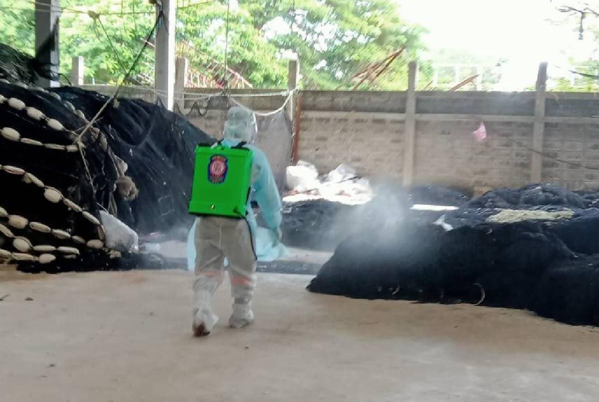 ปัตตานีติดเชื้อพุ่งอีก 214 คน สังเวยอีก 4 คน ประชาชนผวาฉีดยาฆ่าเชื้อในชุมชน