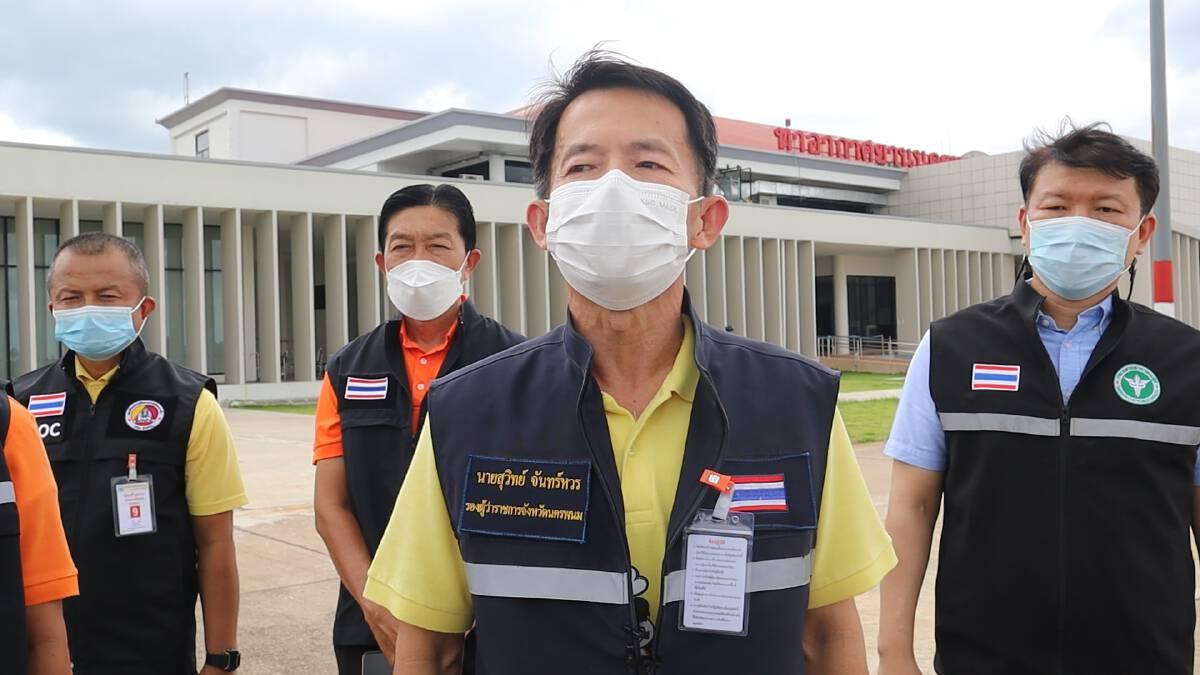 ทบ.นำเครื่องบินลำเลียงส่งผู้ป่วย 40  ชีวิตถึงบ้านเกิด