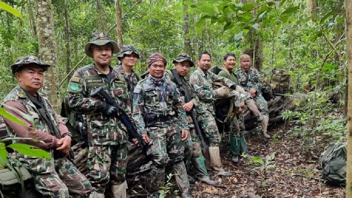 หน.อุทยานเขาใหญ่นำทีมลุยสำรวจผืนป่าวิเคราะห์ปัจจัยเสี่ยง