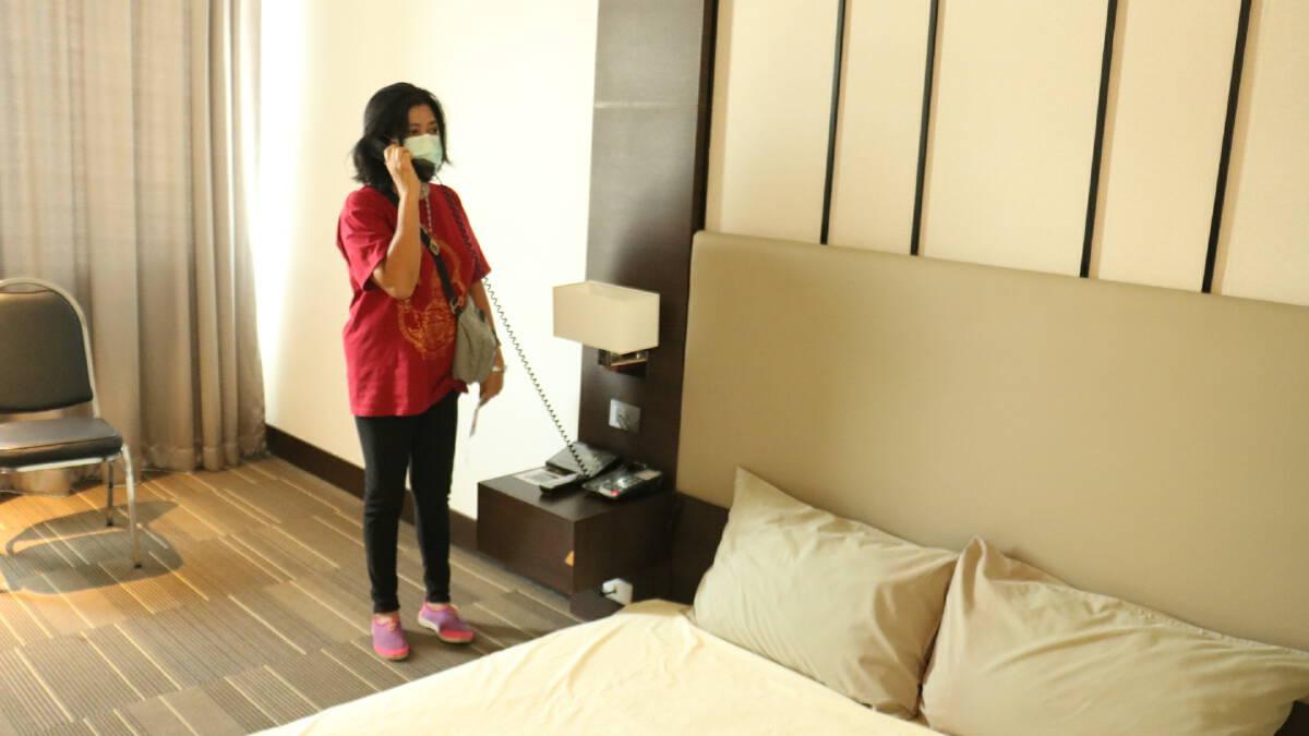 ทน.โคราช เปิดสถานที่กักตัวเต็มรูปแบบ 120 เตียง โรงแรมหรูระดับ 4 ดาว