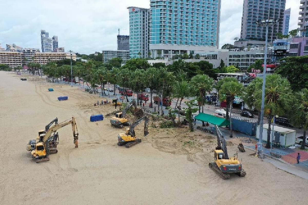 สวนนงนุชจับมือเมืองพัทยาปรับปรุงหาดพัทยา