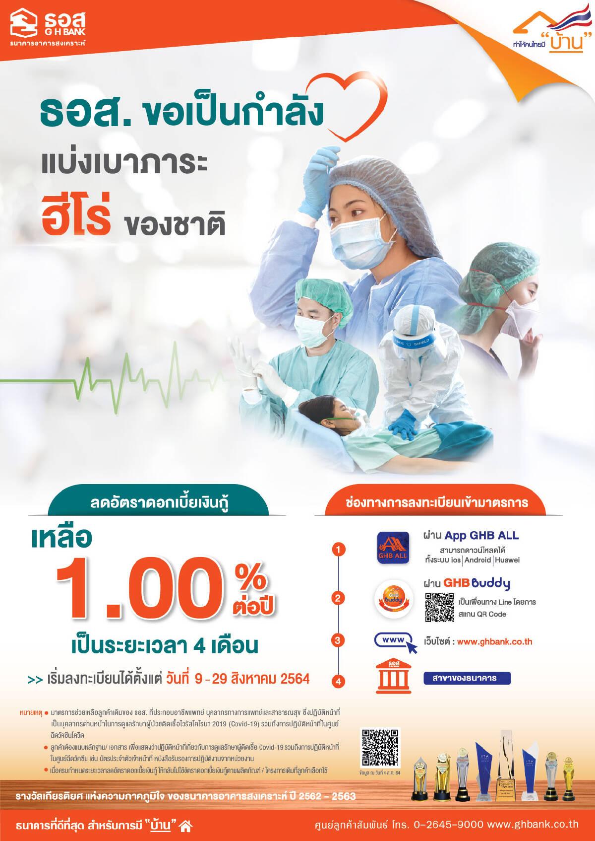 โครงการ My Hero: บุคลากรทางการแพทย์และสาธารณสุข