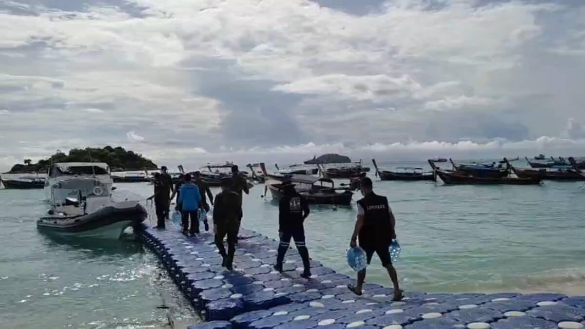 ผู้ว่าฯ สตูลตั้งคลังอาหารเกาะอาดัง เตรียมพร้อมเรือเร็วรับเหตุฉุกเฉิน