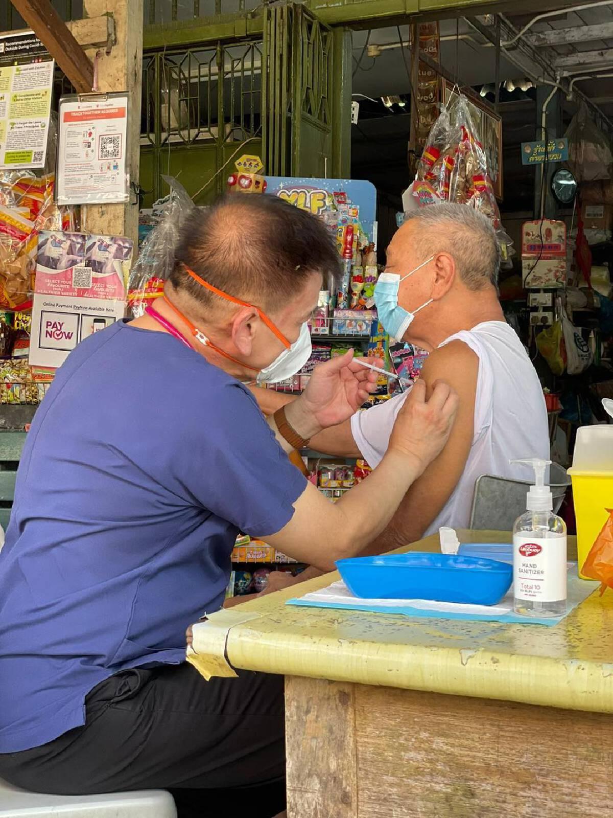 สิงคโปร์ฉีดวัคซีนโควิดแล้ว 80% มากที่สุดในโลก