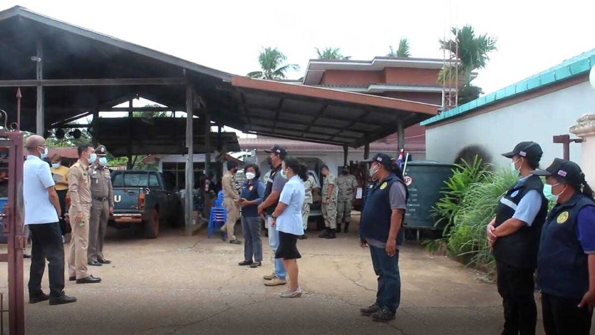 ครบุรีโคราชติดธงฟ้าหมู่บ้านปลอดโควิดสร้างความมั่นใจ ปชช.