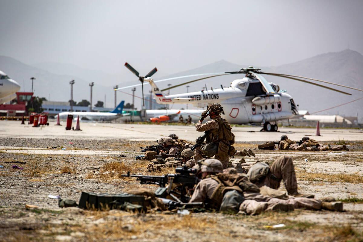 สหรัฐเตรียมถอนทหารขั้นสุดท้าย ตาลีบันเตรียมบริหารประเทศ