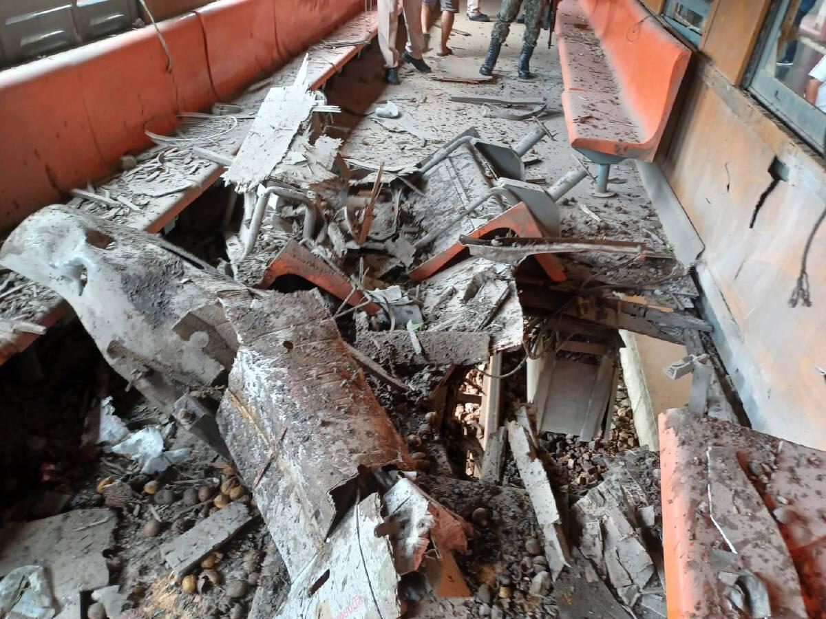 คนร้ายลอบวางระเบิดขบวนรถไฟ จ.นราธิวาส