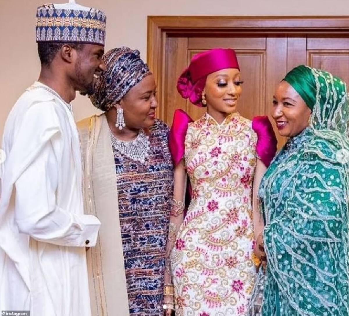 เปิดภาพวิวาห์สุดหรูลูกชายผู้นำไนจีเรีย