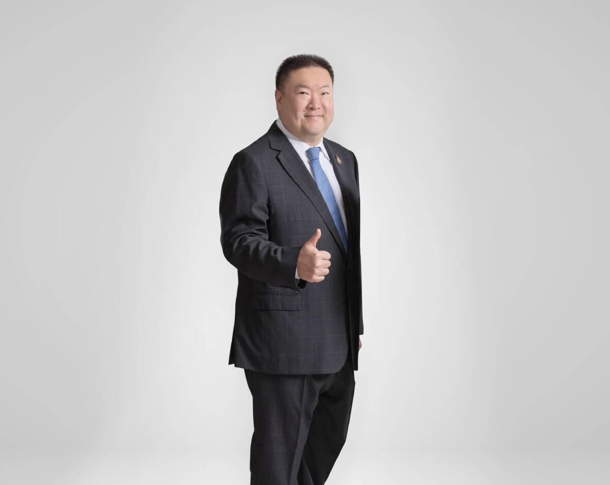 กวิน กาญจนพาสน์ กรรมการ U City และประธานเจ้าหน้าที่บริหารบริษัท บีทีเอส กรุ๊ป โฮลดิ้งส์ จำกัด (มหาชน)