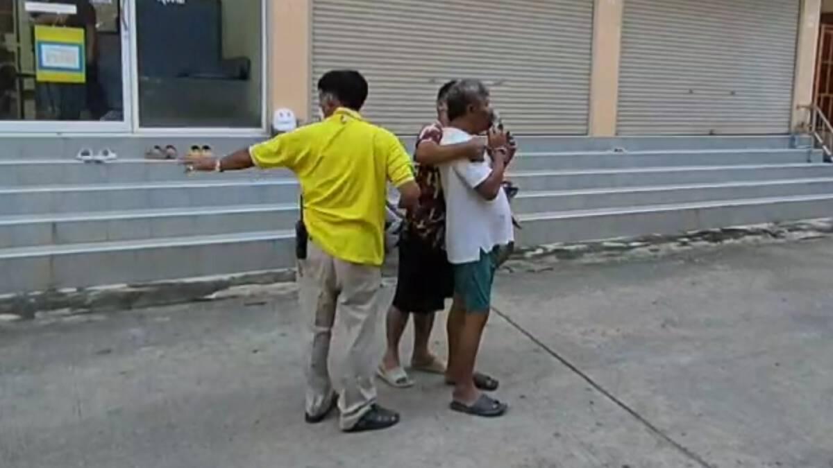 ส่ง 2 พลเมืองดีกักตัว หลังช่วยรวบชายสติเพี้ยนติดโควิดหนีกักตัว