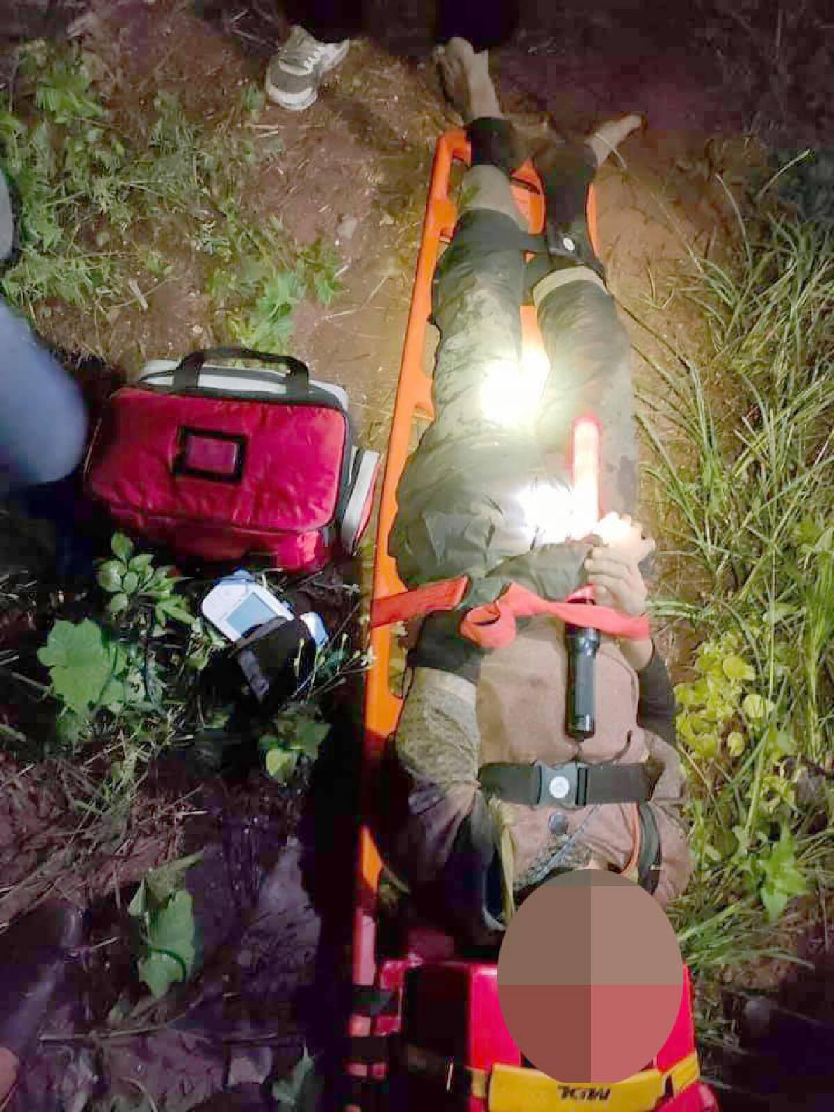 ระดมกำลังช่วยคนหลงป่า 2 วัน 2 คืน บนดอยหลวง