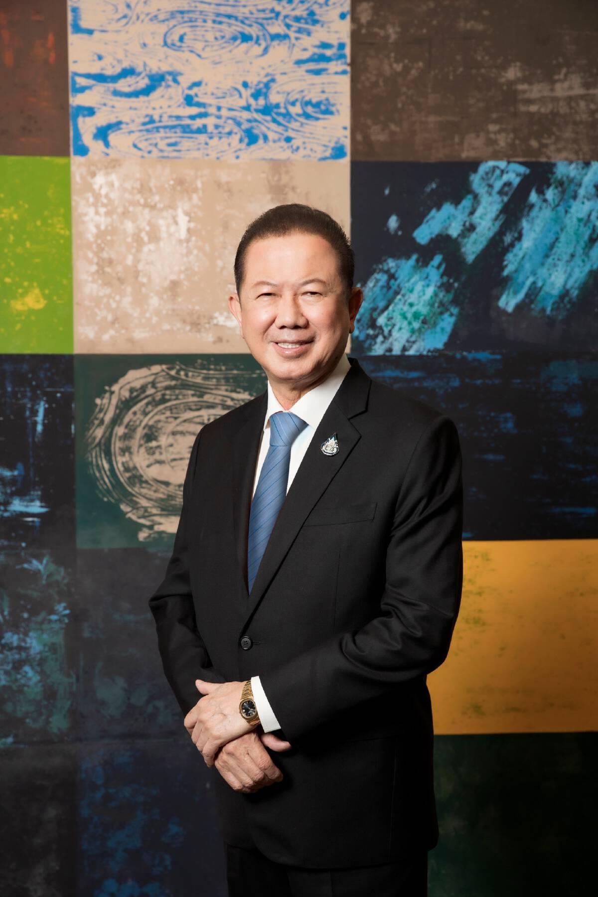 สนั่น  อังอุบลกุล ประธานกรรมการหอการค้าไทยและสภาหอการค้าแห่งประเทศไทย
