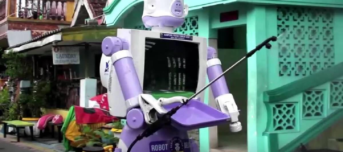 หุ่นยนต์จากกองขยะชื่อเดลต้า มาช่วยเหลือคนติดโควิด-19