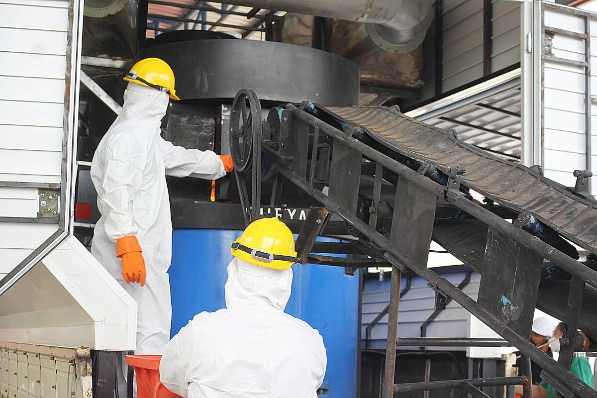 องค์กรท้องถิ่นเมืองคอนหารือเตรียมสร้างเตาเผาขยะติดเชื้อไร้มลพิษ