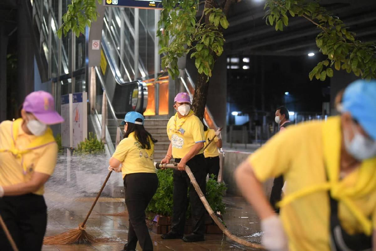 BKK Big Cleaning Day ทำความสะอาดทั่วกรุงเทพฯ พร้อมรับการปรับมาตรการ 1 ก.ย. นี้