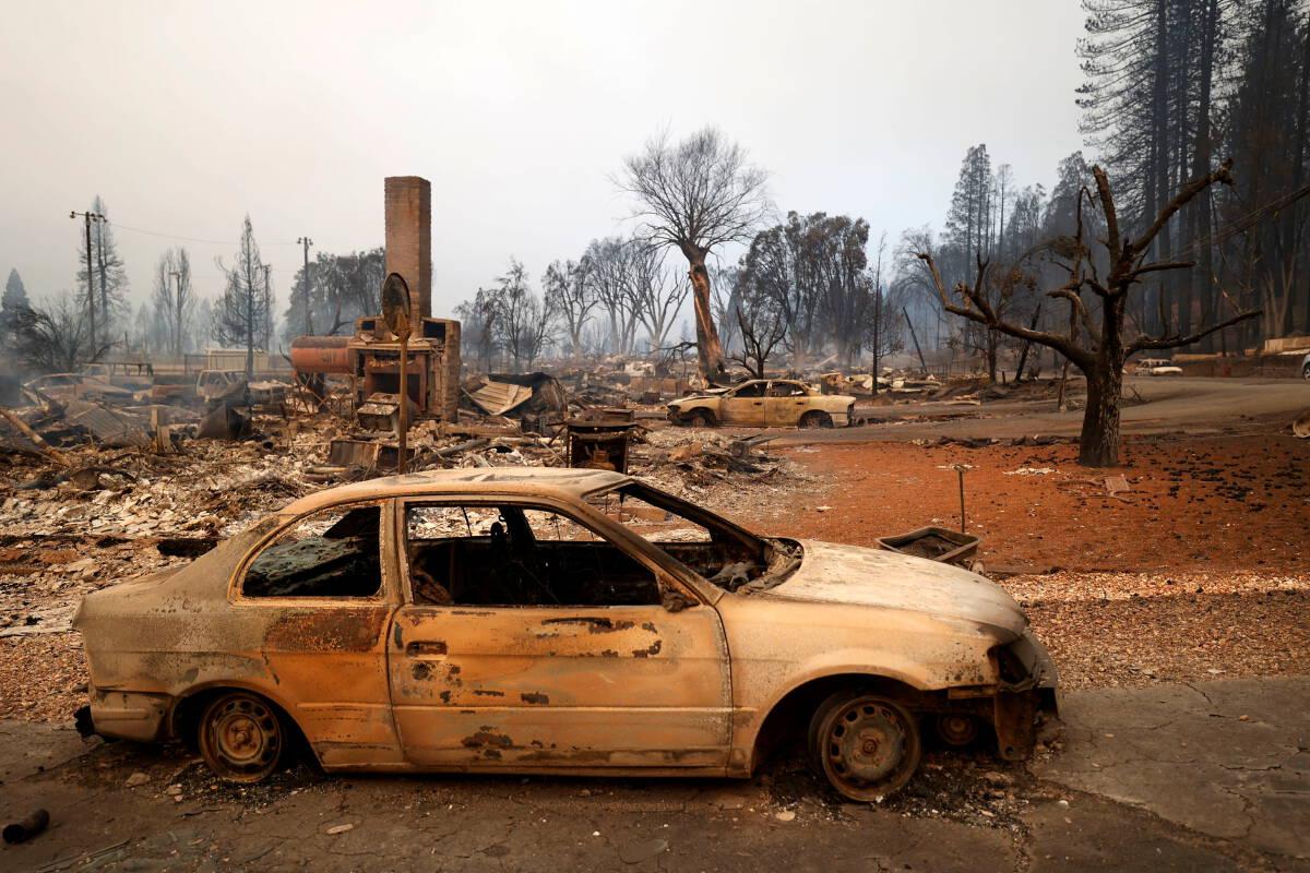 ไฟป่าเผาเมืองเก่ายุคตื่นทองแคลิฟอร์เนียวอดวาย