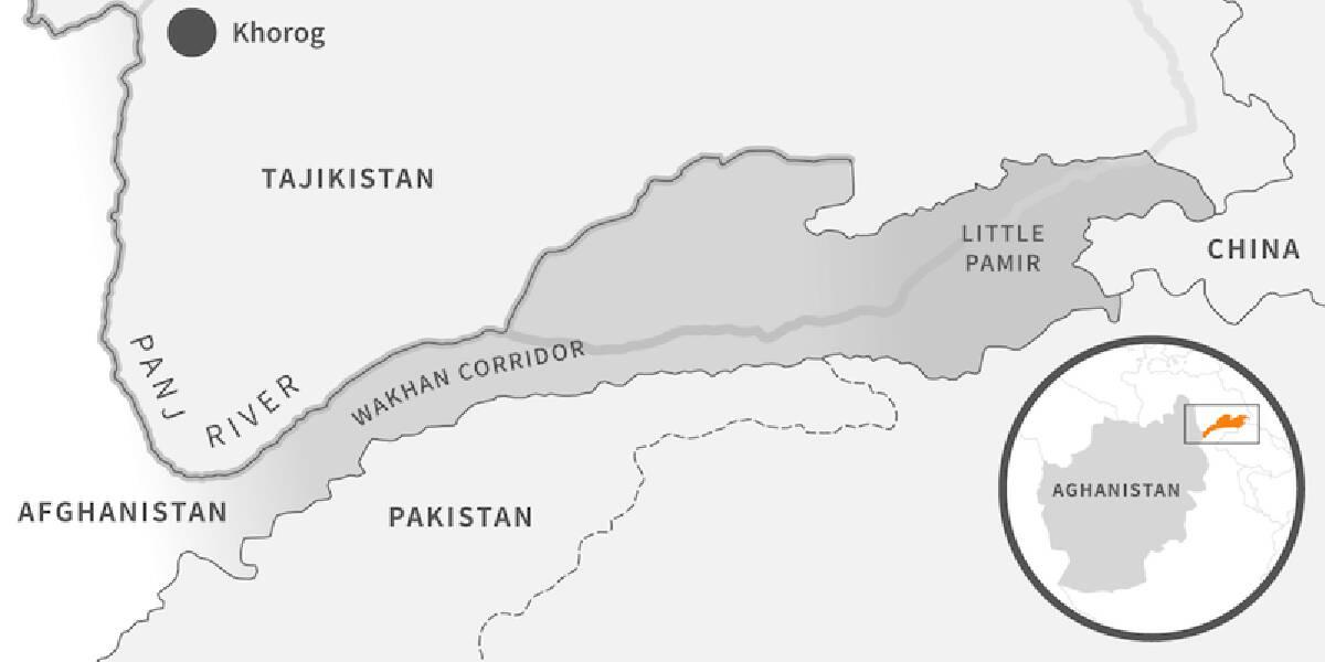 ฉนวนวาคาน ตั้งอยู่ทางทิศตะวันออกเฉียงเหนือของอัฟกานิสถาน เป็นพื้นที่แห่งเดียวที่เชื่อมต่อกับประเทศจีน