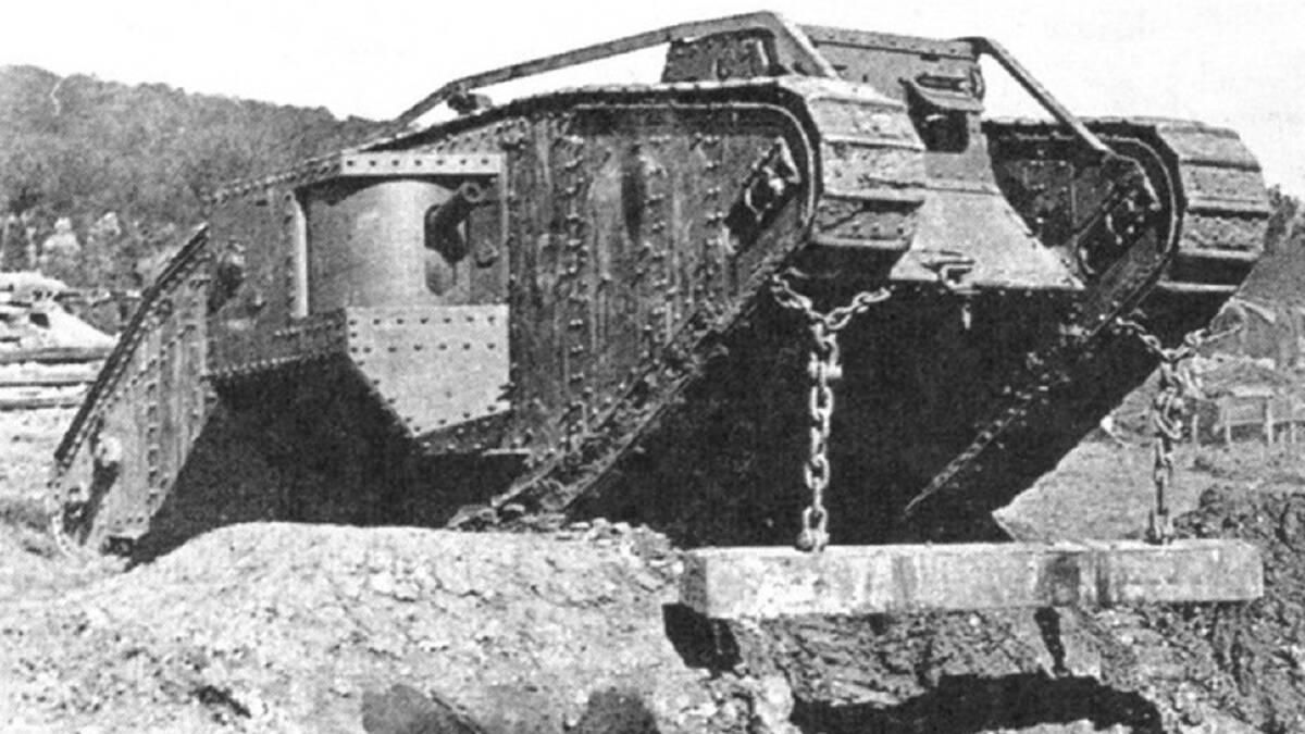 รถถัง Mark IV พระเอกผู้นำมาซึ่งการสิ้นสุดสงครามโลกครั้งที่ 1