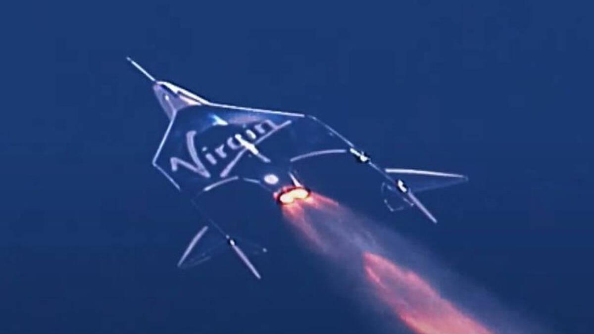 เที่ยวบินของ Virgin Galactic ซึ่งพาไปดูโลกจากมุมมองนอกอวกาศ
