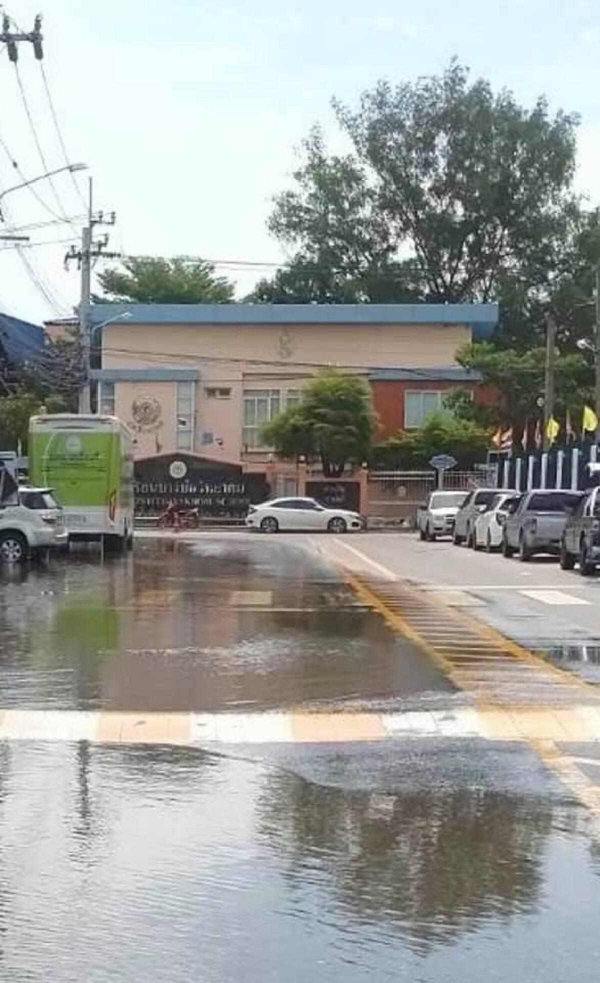 ชป.เร่งช่วยเหลือพื้นที่น้ำท่วม เตรียมรับฝนตกหนัก