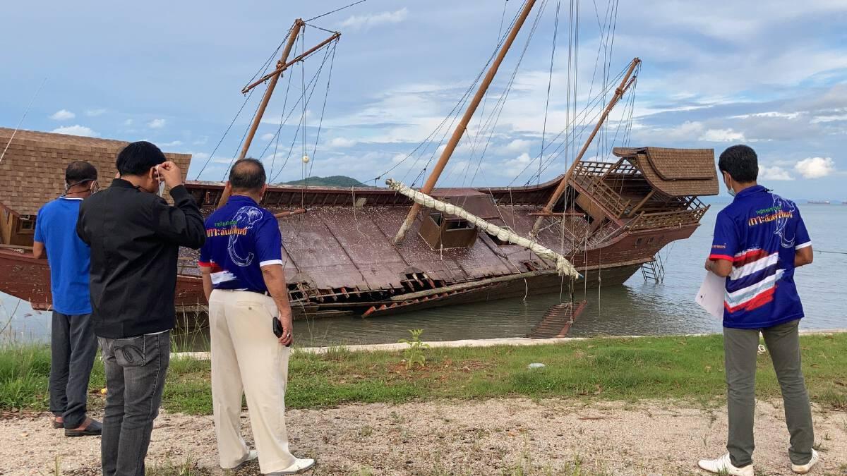 มอบเรือสำเภายักษ์ผุดแลนด์มาร์คดึงนทท.ย้อนอดีต 100 ปี เกาะลันตา