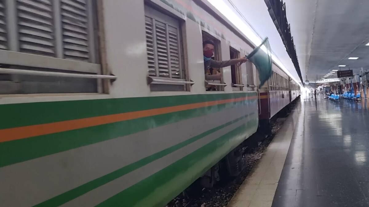 เดินรถไฟท้องถิ่นสายใต้สุดปลายทางสุไหงโก-ลก วันแรก