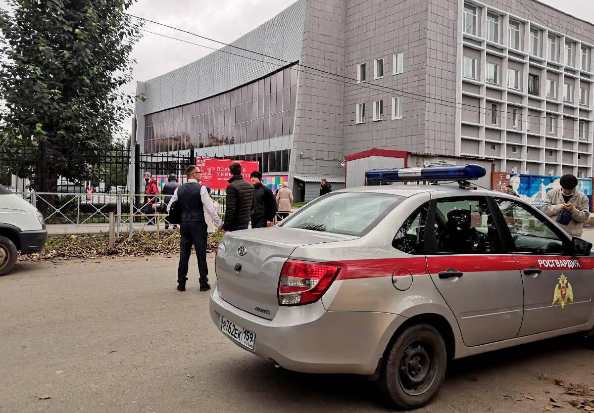 หนีตายระทึก! เหตุกราดยิงดับ 8 ศพในมหาวิทยาลัยรัสเซีย