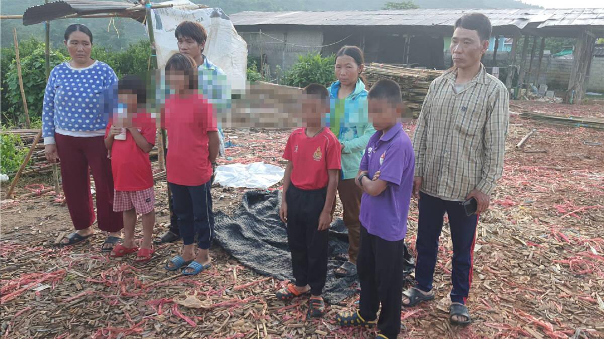 โอ้ละพ่อ! เด็ก 4 คนหายจากบ้านทั้งคืนที่แท้หนีไปนอนเล่นที่สวนส้ม