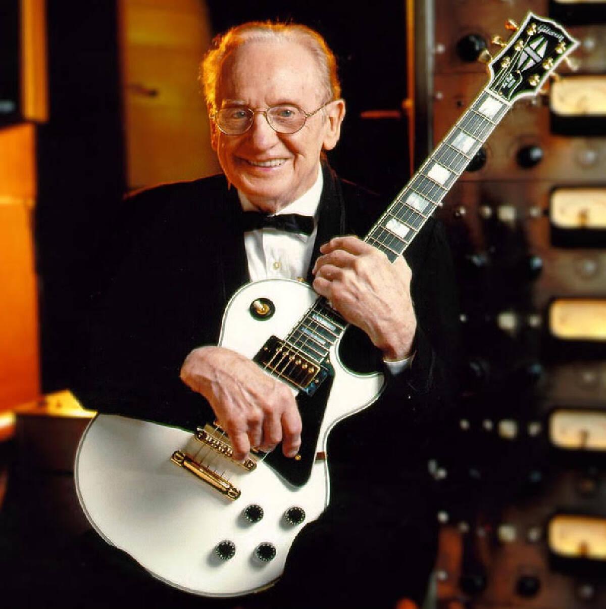 Les Paul และกีตาร์ Gibson Les Paul และเครื่องบันทึกเสียง 8 Track