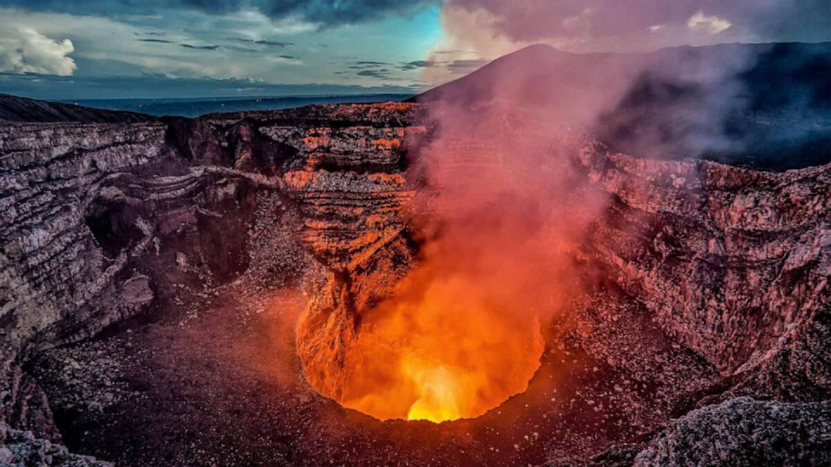 ภูเขาไฟ Masaya ในนิคารากัว ในรอบ 30 ปี ปะทุไปแล้วกว่า 13 ครั้ง