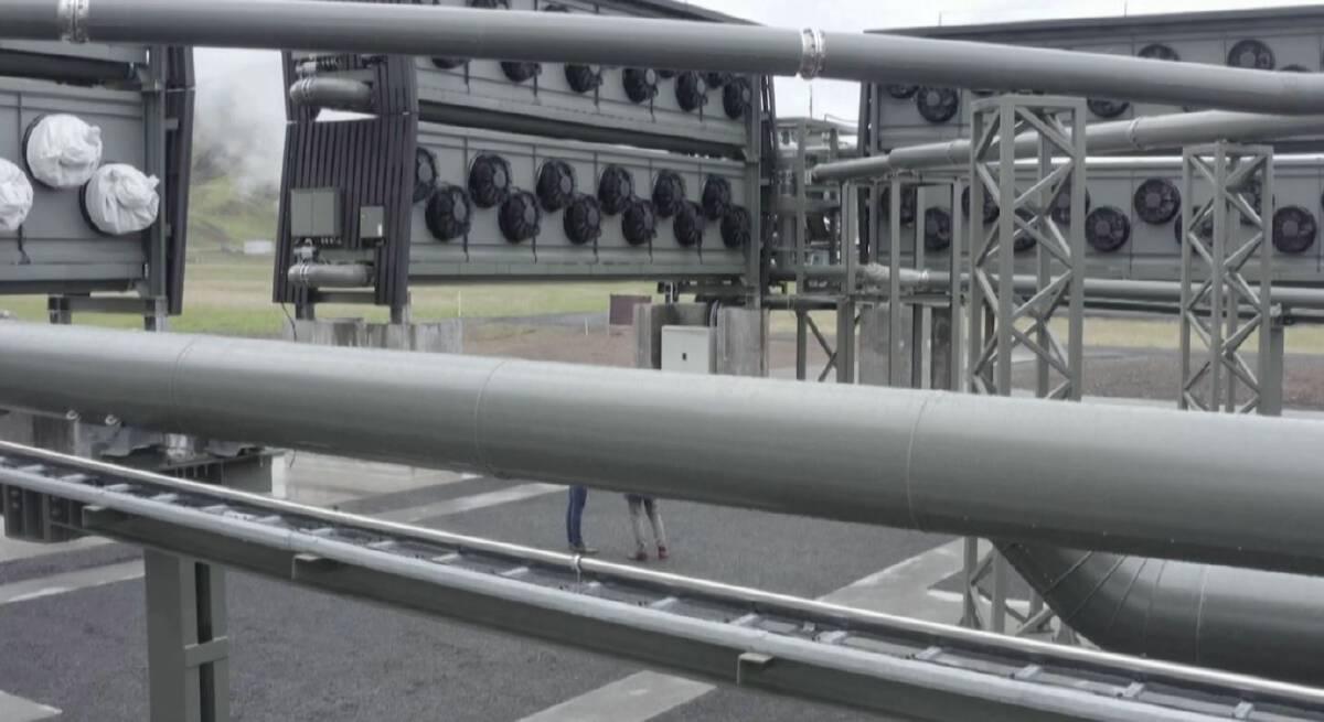 โรงงานดูดคาร์บอนไดออกไซด์ที่ใหญ่ที่สุดในโลก