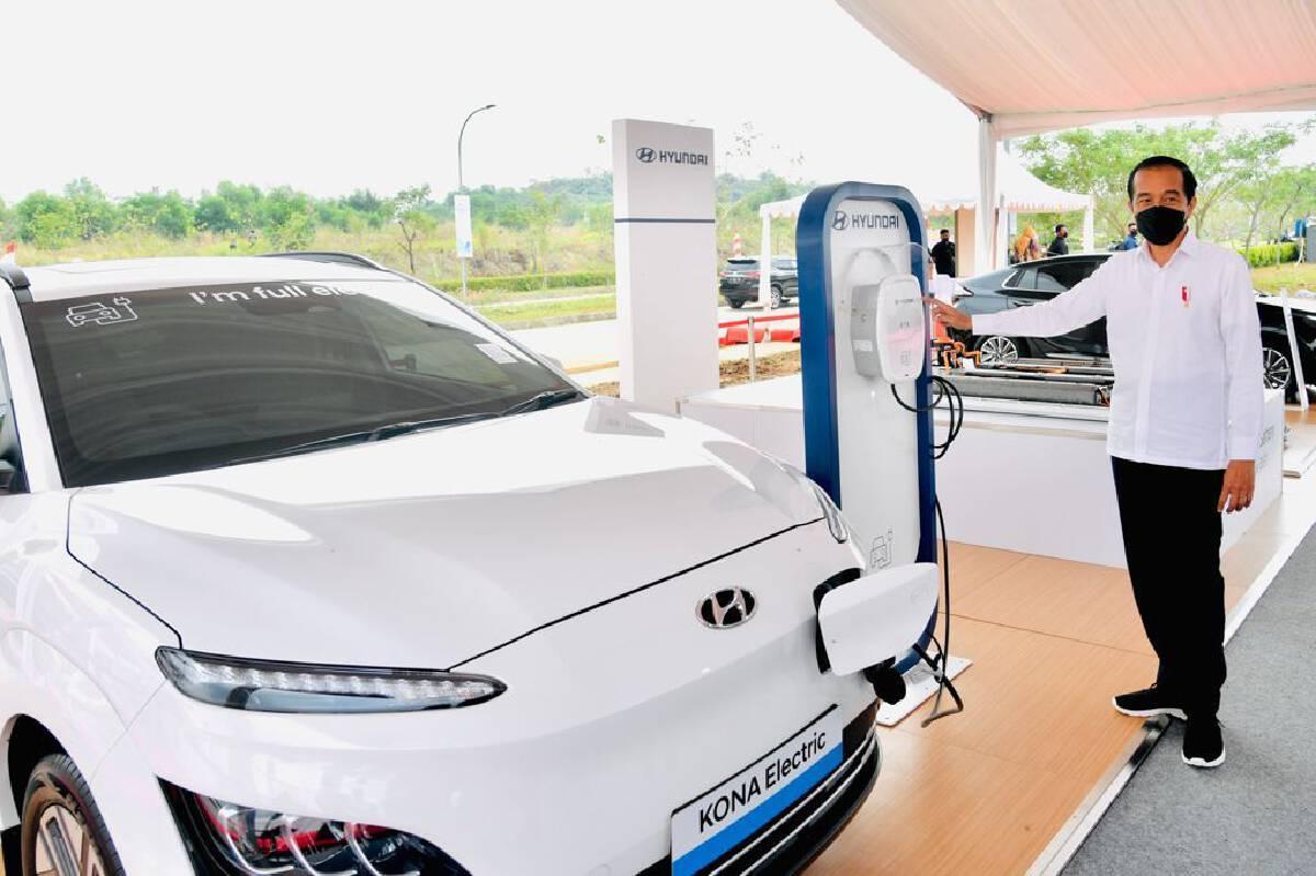 อินโดนีเซียเริ่มสร้างโรงงานแบตเตอรีรถยนต์ไฟฟ้าแห่งแรกในอาเซียน