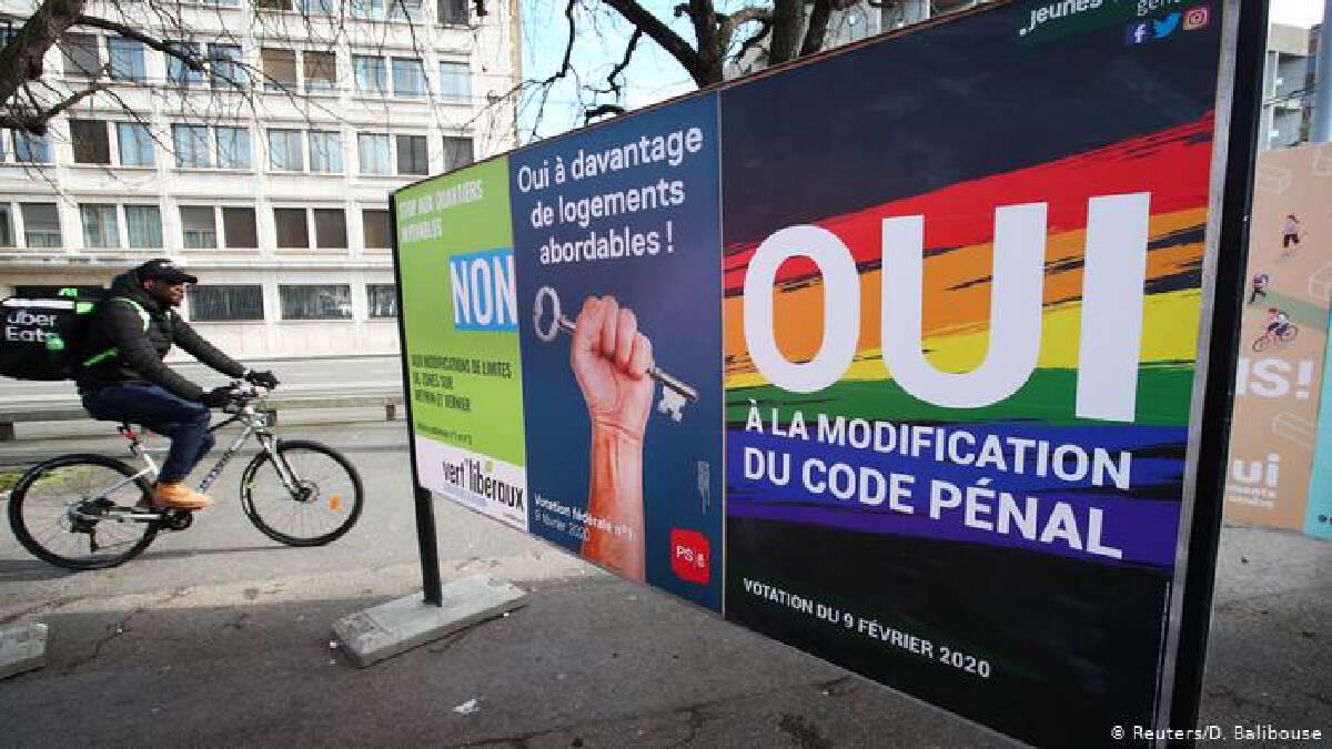 สวิตเซอร์แลนด์ผ่านกฎหมายการแต่งงานคู่รักเพศเดียวกัน