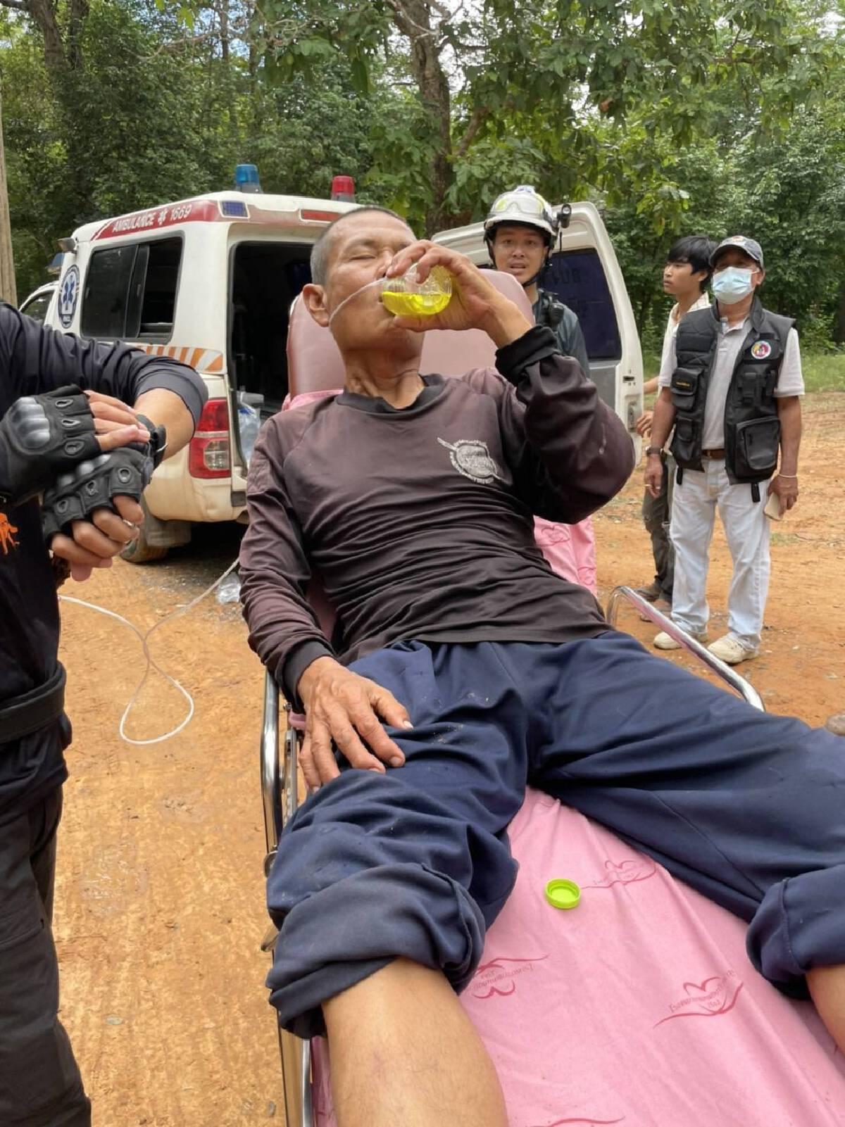 พบแล้วชายวัย56ปีหาเห็ดหลงป่าภูเก้า 6 วัน รอดตายปาฏิหาริย์