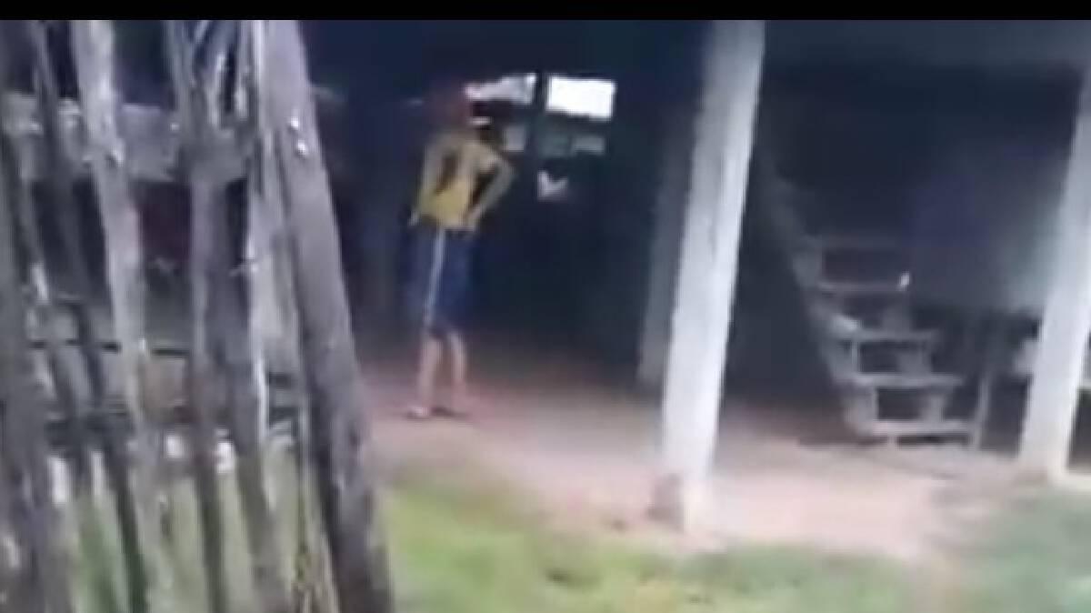 วุ่นไม่เลิก!หนุ่มกลับจากศูนย์บำบัดกาญจนบุรีคุ้มคลั่งอาละวาด