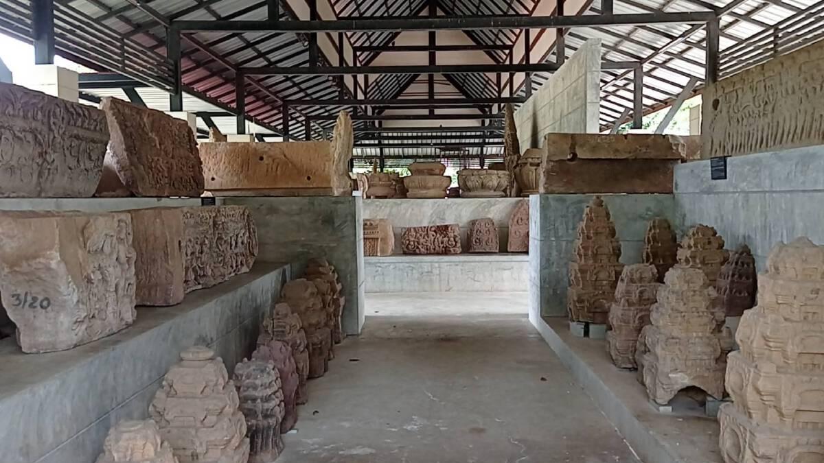 พิพิธภัณฑ์ฯพิมาย เร่งวางกระสอบทรายป้องโบราณวัตถุ