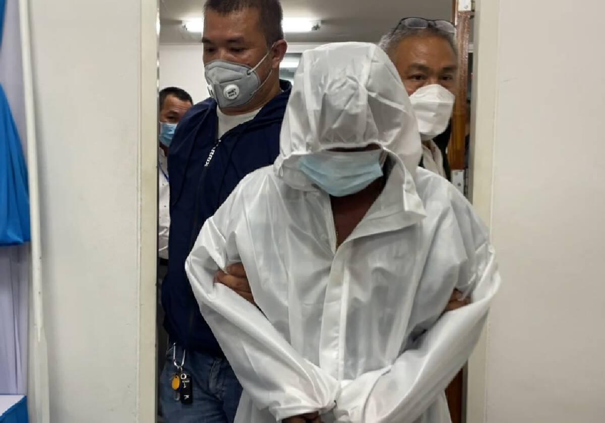 ตำรวจเตรียมคุมตัวผู้ต้องหาทำแผนฆ่าปาดคอสาวโรงงาน ตั้ง 3 ข้อหาหนัก