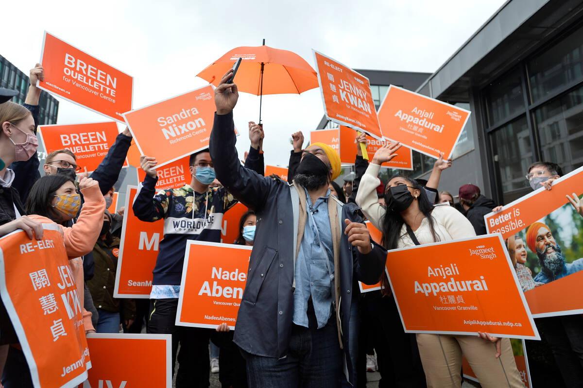ภาพ : Reuters / New Democratic Party